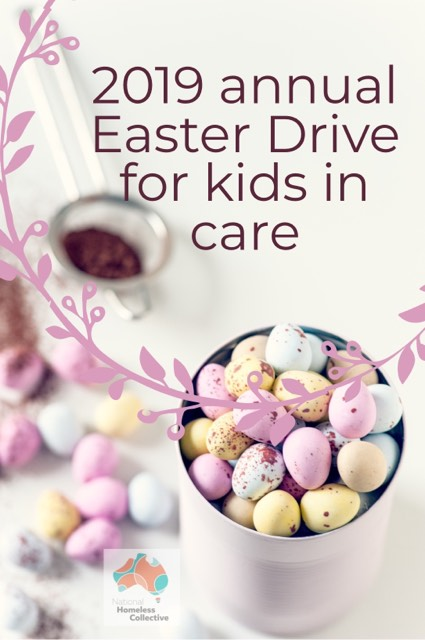 2019 Annual Easter Drive for Kids in Care