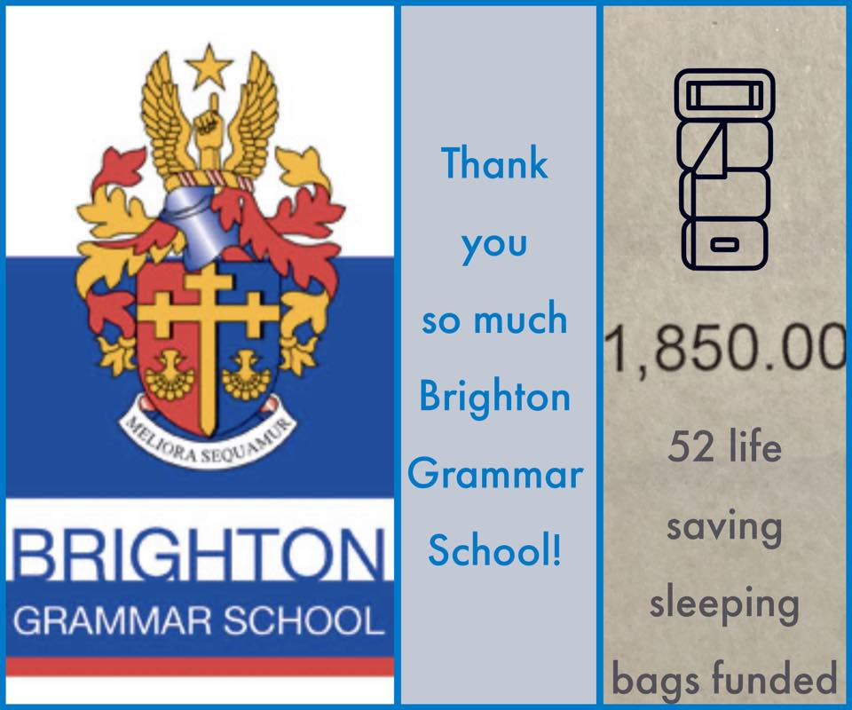 Thank you Brighton Grammar