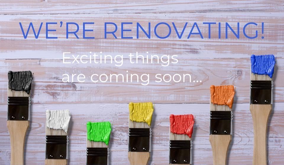 We're Renovating ?