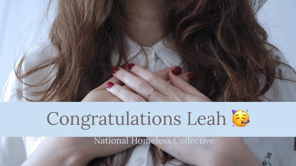 Congratulations Leah