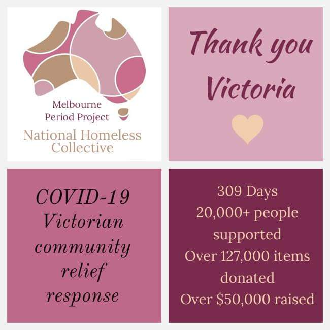 Covid Update – Thank You VIC