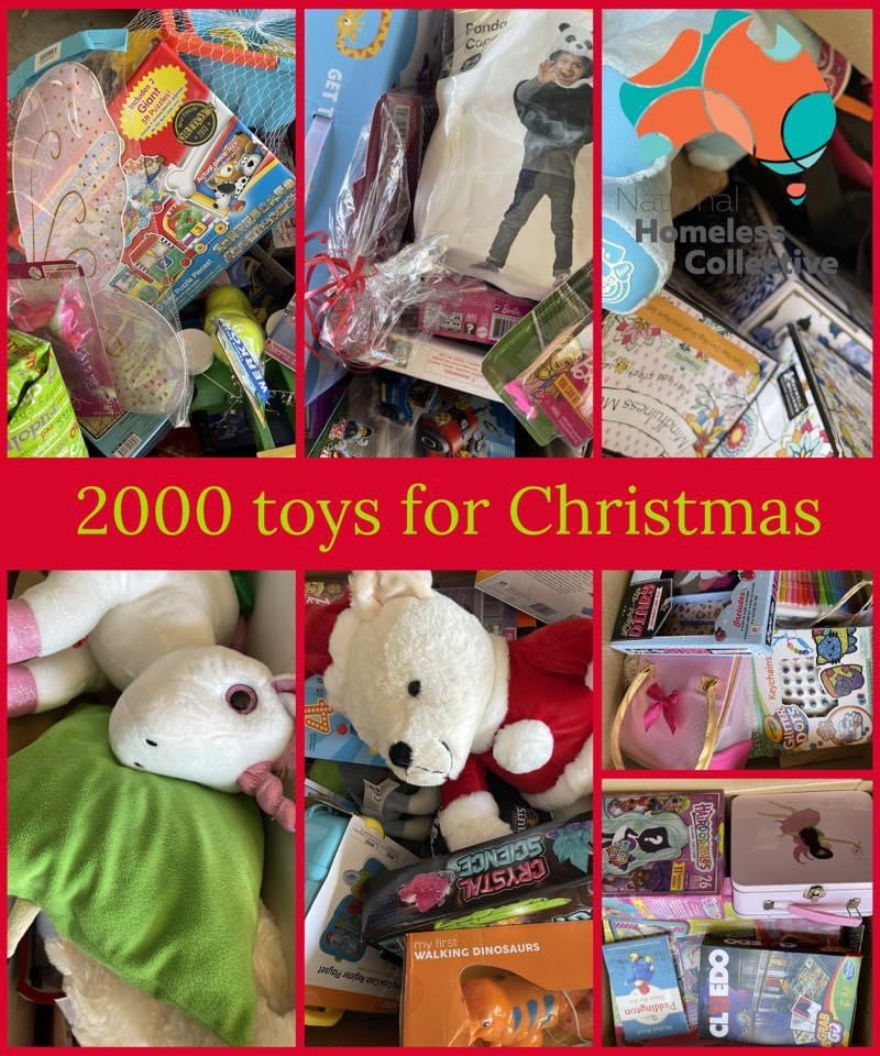 1000s of Toys to over 1000 Families
