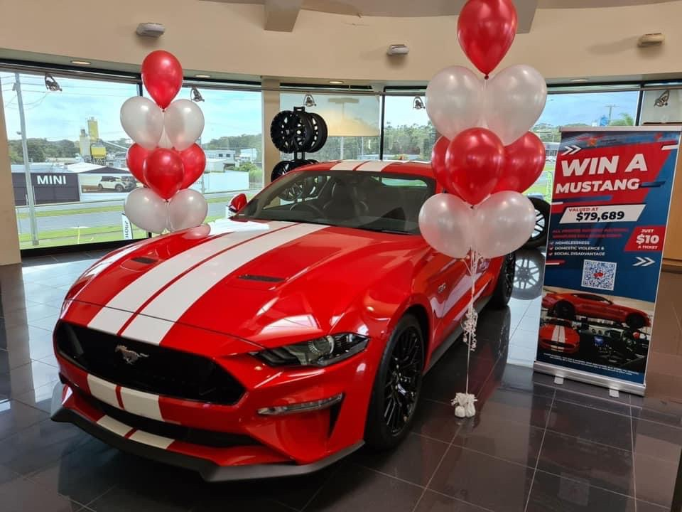 Raffle Draw for the Ford Mustang