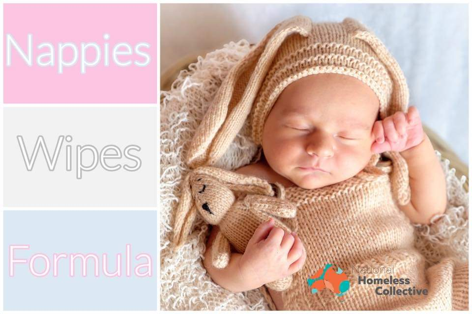 We need more Nappies,  Wipes and Formula